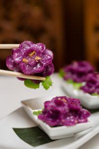 Cho Lada Purple dumpling sala thai downtown vancouver