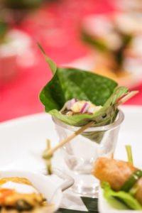 Variety of food options when booking event or lunch catering with Salathai Burrard Vancouver